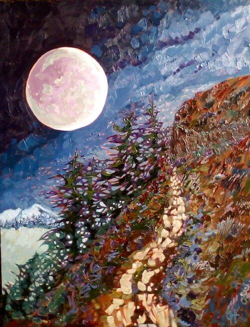 AVAILABLE - Moonwalk, 70cm x 90cm