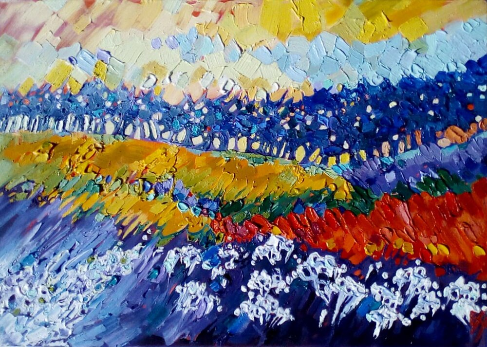 AVAILABLE - Windsong - R2500, 52cm x 36cm